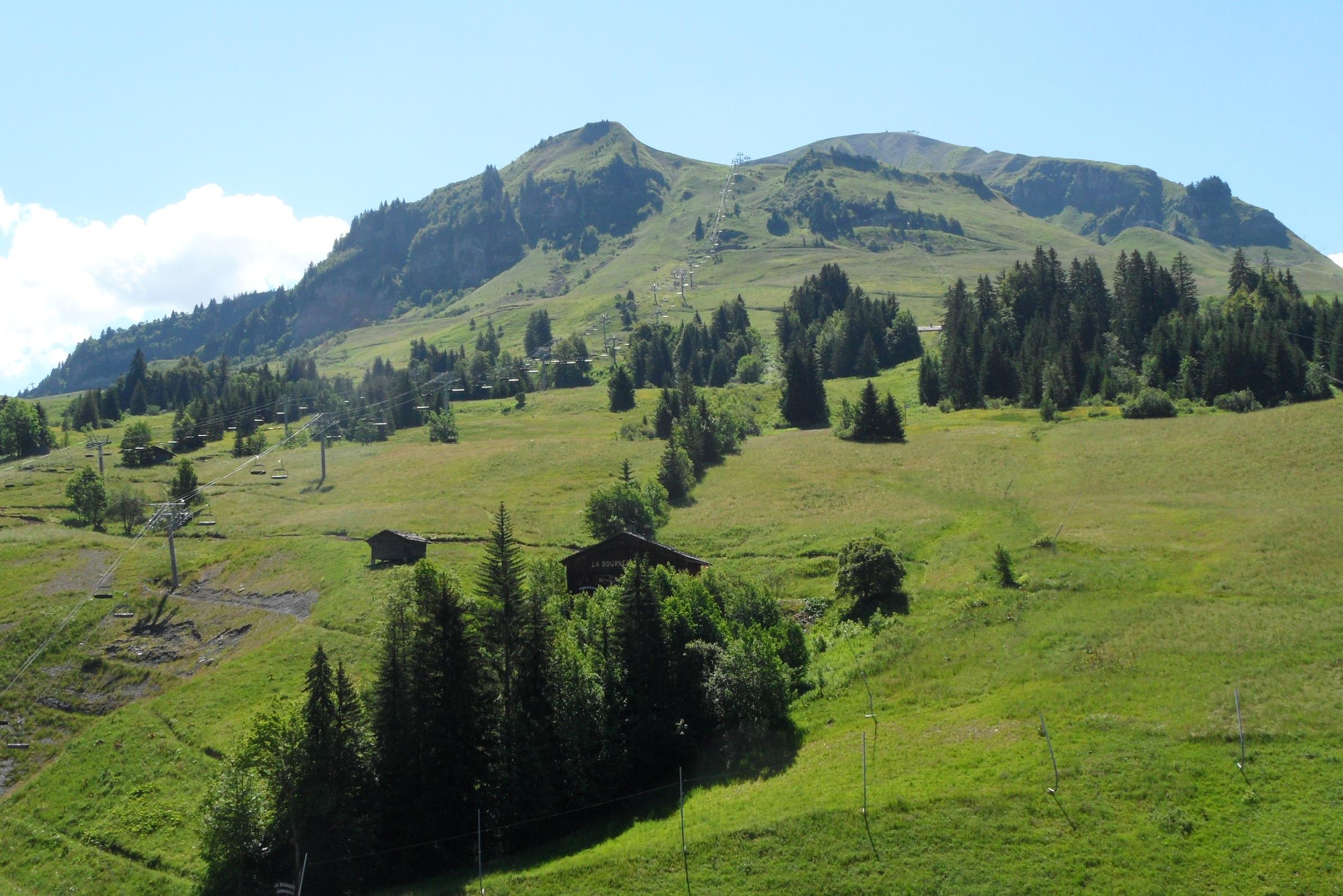 Le Mont Lachat - Location Studio Chinaillon